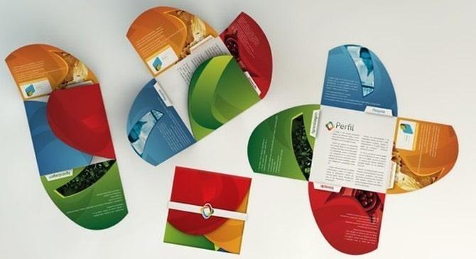 Des brochures et plaquettes créatives 8