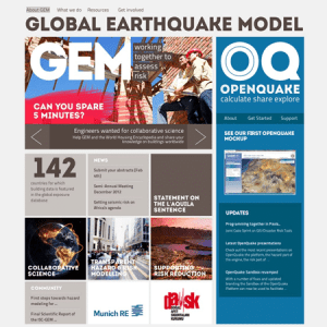 Global Earthquake Model : une refonte qui secoue