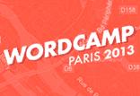Wordcamp Paris 2013 : venez nous rencontrer ! 3