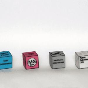 Calling Cube : des cartes de visites en 3D