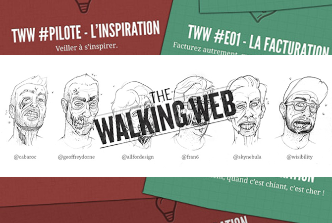 The Walking Web : du webdesign plein les oreilles 1