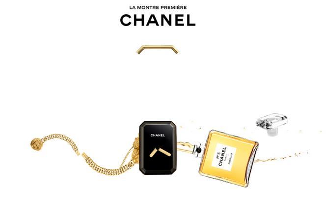 Chanel Première : un scroll haute couture