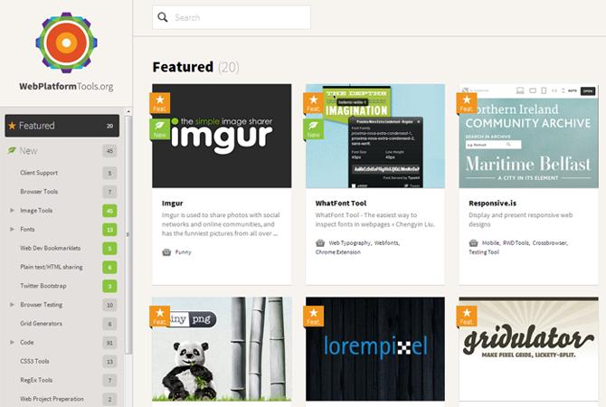 WebPlatformTools : une plate-forme de veille pour concepteurs Web