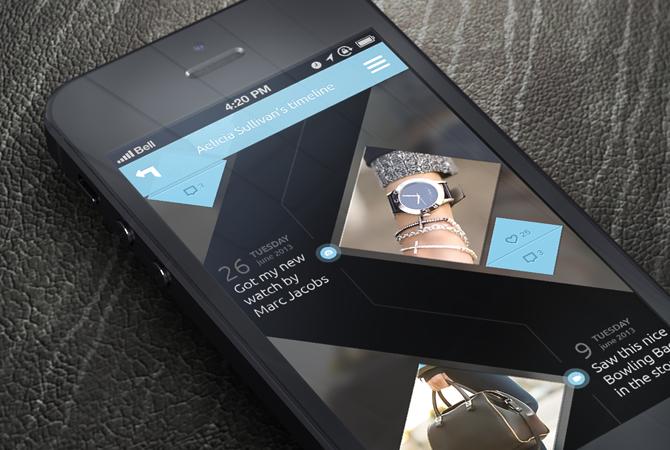 Interfaces mobiles : place à la couleur !