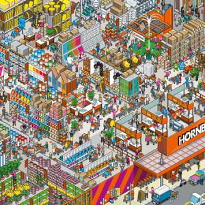 Inspiration : non, le pixel n'est pas mort !