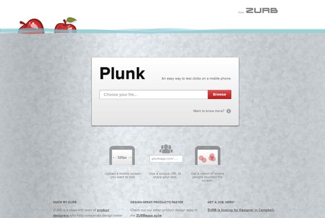 Plunk : testez vos design mobiles…