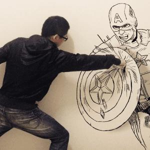Gaikuo-Captain : quand le dessin rencontre la réalité