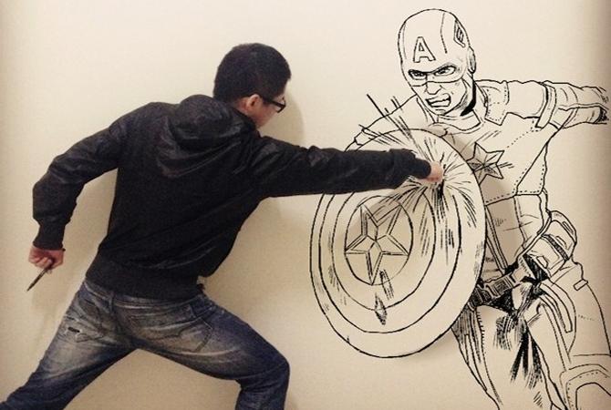 Gaikuo-Captain : quand le dessin rencontre la réalité 1