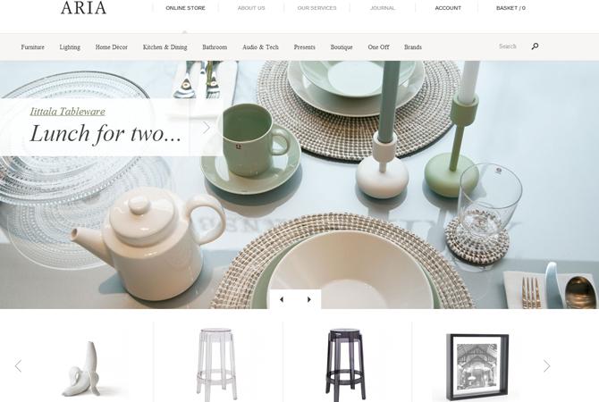 Inspiration : 30 sites e-commerce créatifs