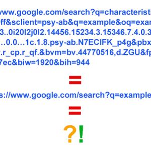 Petite réflexion sur la syntaxe des URLs