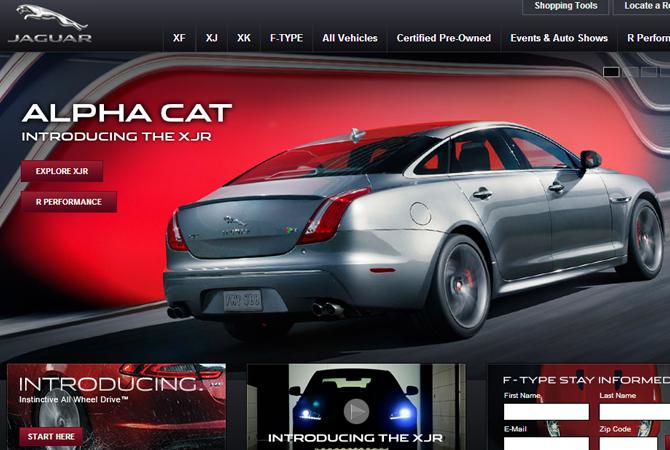 Inspiration : 35 exemples de webdesign automobile