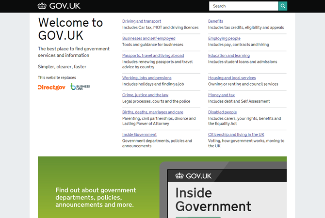 Gov.uk : Design of the Year Awards ???….!!!