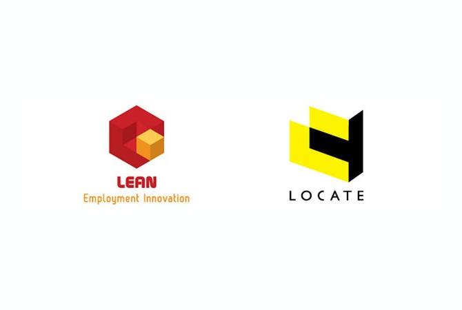 logos isométriques