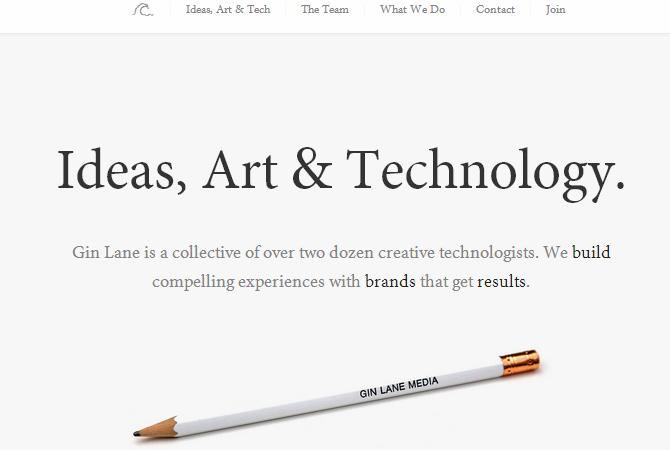 Inspiration : 30 pages d'accueil d'agences digitales