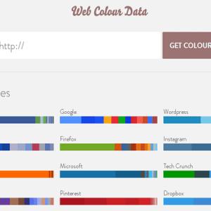 Web Colour Data : un extracteur de couleurs pour site web