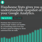 Handsome Stats : éditez simplement vos stats Google Analytics