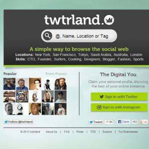 Twtrland : une solution simple de social CRM