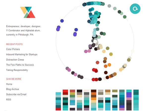 The Colors of Dribbble : un algorithme détecteur de bon goût