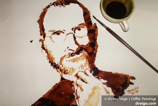 Dirceu Veiga : un artiste très fort de café