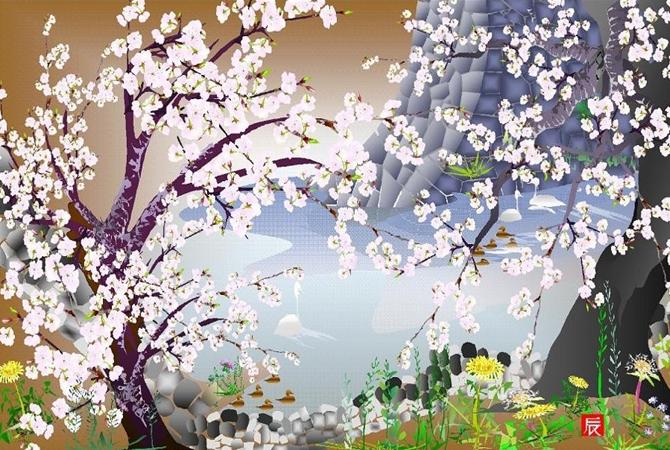 Tatsuo Horiuchi : un artiste qui «Excel» dans son art