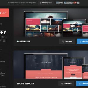 Conception web : 12 templates HTML5 gratuites et fully responsive
