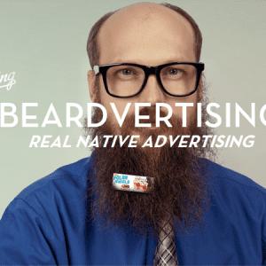 Beardvertising : louez votre barbe aux annonceurs !