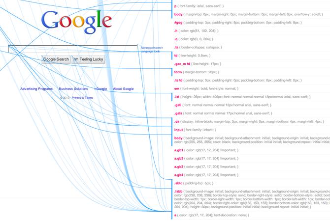 css.benjaminbenben.com : visualisez les règles CSS d'une page web