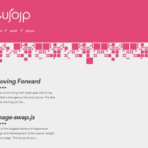 Webdesign : le rose, c'est pas morose