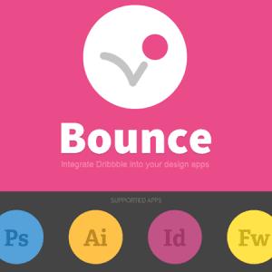 Bounce : connectez Dribbble à la suite Adobe