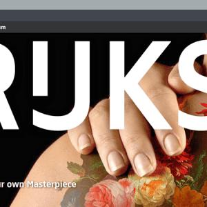 Rijksmuseum : un nouveau site qui dépoussière l'image des musées