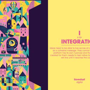 Inspiration : un alphabet illustré du vocabulaire créatif