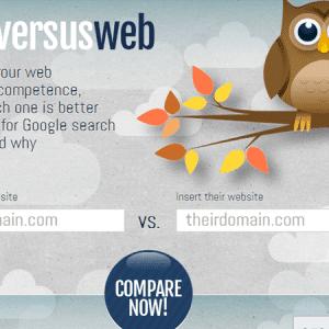 WebversusWeb : comparez votre SEO à celui de vos concurrents