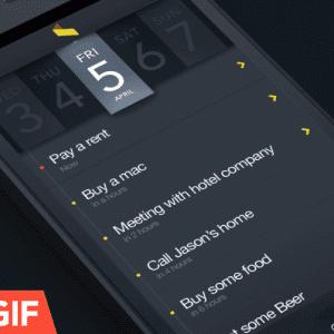 Guifff.com : encore des idées d'UI originales pour vos interfaces