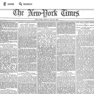 New TimesMachine : plongez dans les archives du NYT