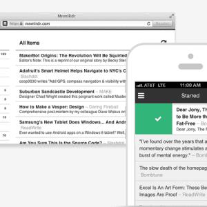MnmlRdr : un lecteur de flux RSS minimaliste