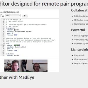 Mad Eye : un éditeur de code collaboratif
