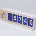 Fliike : le premier compteur physique de fans Facebook