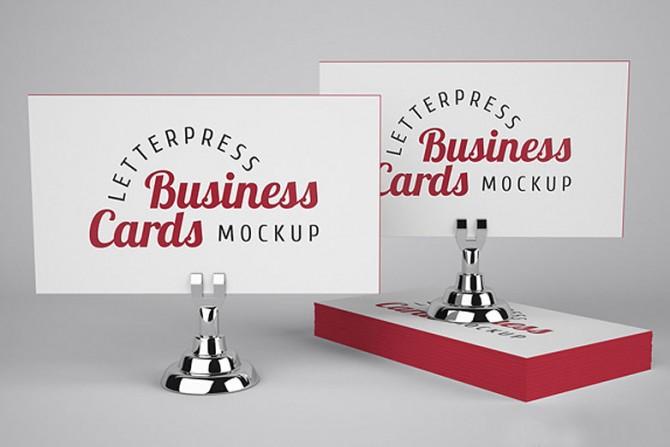 Beliebt Des mockups pour des cartes de visite | Studio Cassette FK98