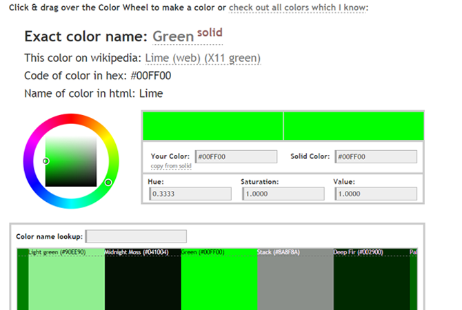 name-color