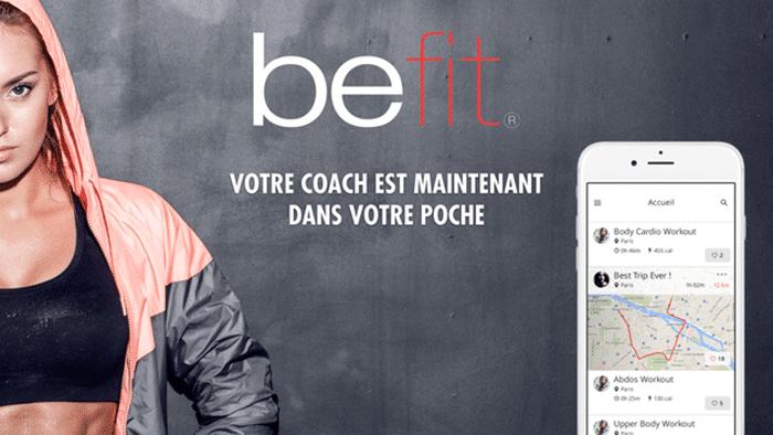 Befit : un coach personnalisé à portée de main