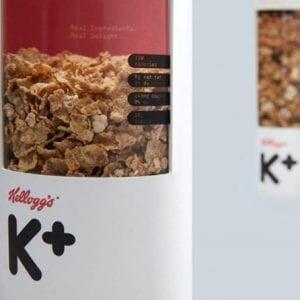 Un design plus créatif pour Kelloggs