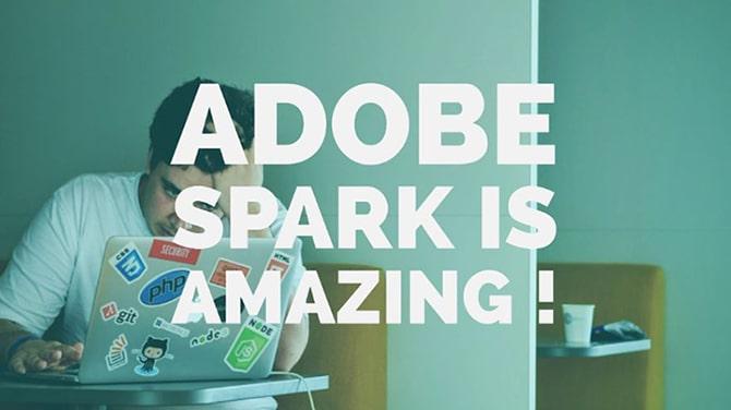 Adobe Spark, la création graphique à portée de tous 1