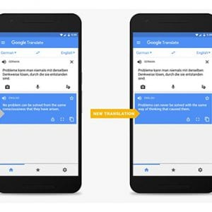 Google Translate améliore et fluidifie sa traduction automatique