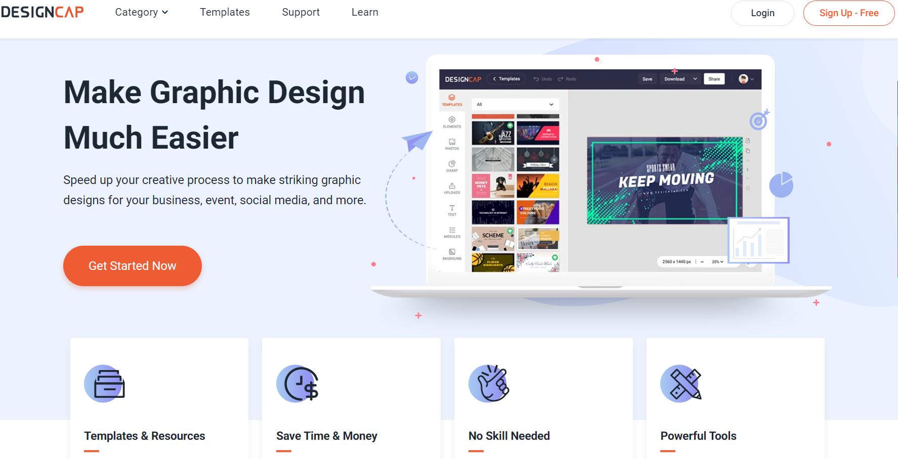 Pourquoi utiliser DesignCap pour vos conceptions graphiques