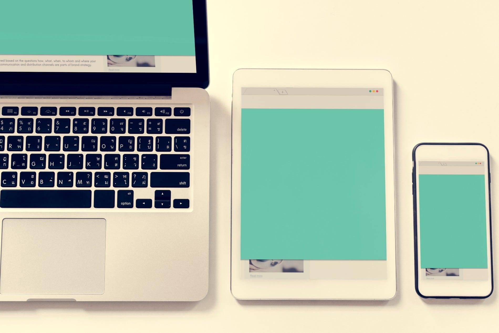 L'importance d'un site responsive