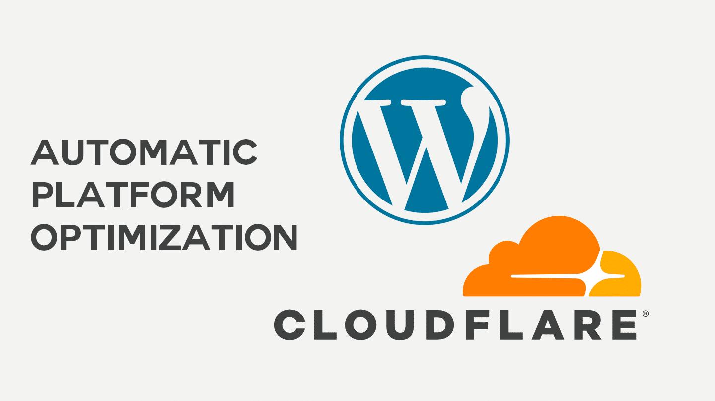 Cloudflare lance un nouveau service pour optimiser la vitesse de chargement sous WordPress 1